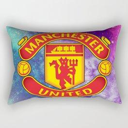 Manchester United Galaxy Design Rectangular Pillow