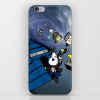 snoopy iPhone & iPod Skins featuring Snoopy Doctor Who by Kieron O'Gorman