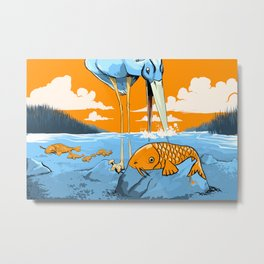 The Koi Decoy Metal Print