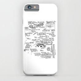 Arizona - Handl lettered map iPhone Case