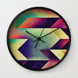 fyntysy dye Wall Clock