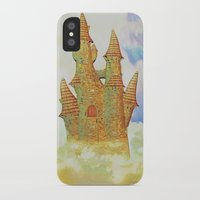castle in the sky iPhone & iPod Cases featuring castle in the sky by Ancello