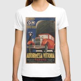 Vintage poster - Autorimessa Vittoria T-shirt
