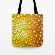 Cheerful bubbles Tote Bag
