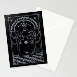 Doors of Durin Stationery Cards
