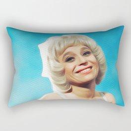 Barbara Windsor, Carry On Legend Rectangular Pillow