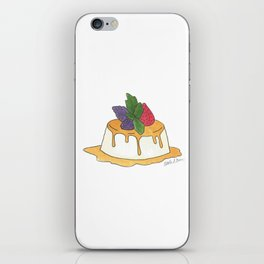 F is for Flan iPhone Skin