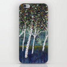Evening Aspens iPhone & iPod Skin