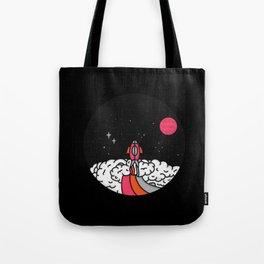 15 Minutes to Mars Tote Bag
