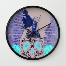 Crania Incarnate Wall Clock