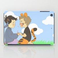 destiel iPad Cases featuring WTP! Destiel by psych0tastic
