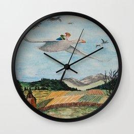 Nils Holgersson Wall Clock