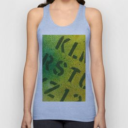 Identification Unisex Tank Top