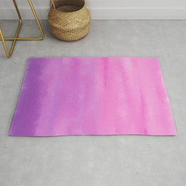 Sunset Clouds Abstract Rug
