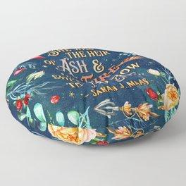 Ash & Fire Floor Pillow