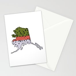 Alaska Rainbow Trout Stationery Cards