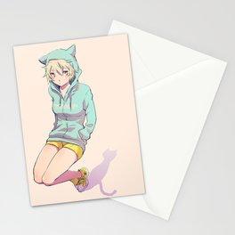 Nekomimi Stationery Cards