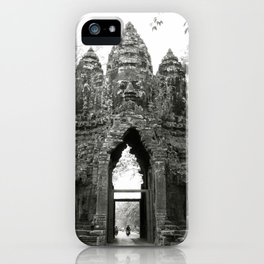 Mysterious buddhist khmer history in Cambodia iPhone Case
