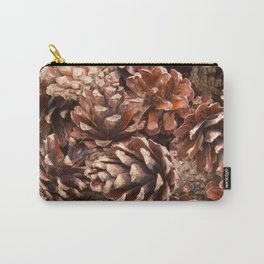 Woodland Pinecones Carry-All Pouch