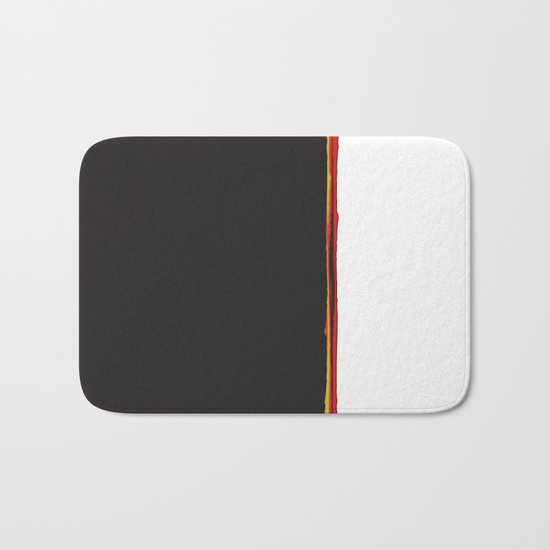 No Traveler Returns Abstract Print Bath Mat