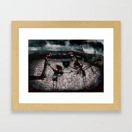 the saddest cloud Framed Art Print