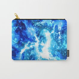 Blue Cosmos Carry-All Pouch