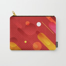 Abstract Meteor Shower Carry-All Pouch