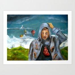 iHEART Art Print
