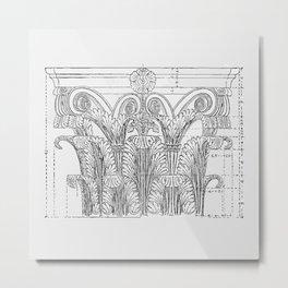 Corinthian column Metal Print
