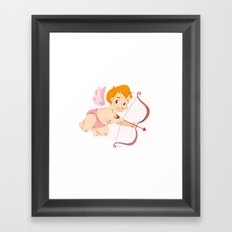 Cupid's Arrow  Framed Art Print