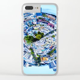 small city Clear iPhone Case