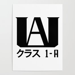 U.A. High (My Hero Academia) Poster