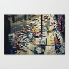 Jumbled Thoughts Canvas Print