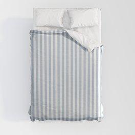 FADED DENIM CHAMBRAY STRIPES Duvet Cover