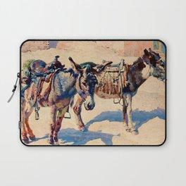 """Western Art Vintage """"Patience"""" Laptop Sleeve"""