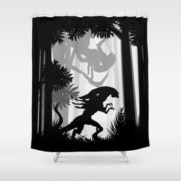 Wild Jungle Animals Shower Curtain