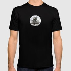 aires MEDIUM Mens Fitted Tee Black