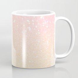 Glitter Pink Sparkle Ombre Coffee Mug