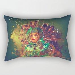 Abstract Carneval Rectangular Pillow