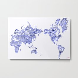 Where Will You Make Your Mark- Special Edition, Editor's Choice Metal Print