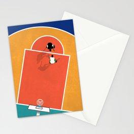 Street Basketball  Stationery Cards
