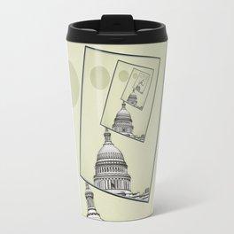 Political Spin Travel Mug