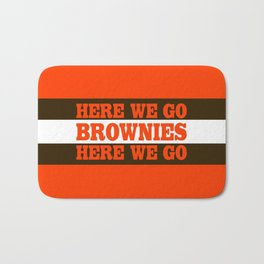 Here We go Brownies Cleveland Bath Mat