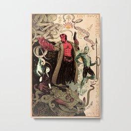 Rasputin's Diary Metal Print