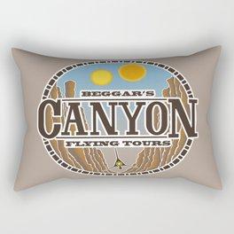 Beggar's Canyon Tours Rectangular Pillow