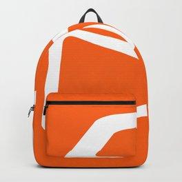 Mid Century In Burnt Orange Backpack