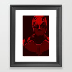 Without Fear Framed Art Print