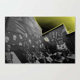 Hip hop Chess Wall Canvas Print