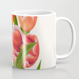 Colorful Flower Bouqet Painting Coffee Mug