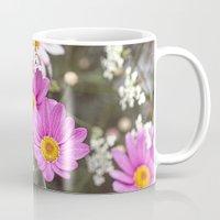 daisy Mugs featuring Daisy by LebensART Photography